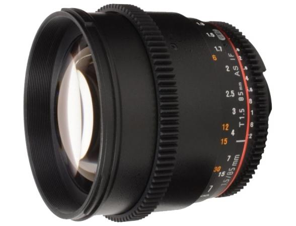Объектив Samyang 85mm T1.5 AS IF UMC VDSLR Canon EF