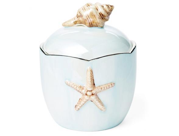 Косметическая емкость KASSATEX Mare Shells Seafoam