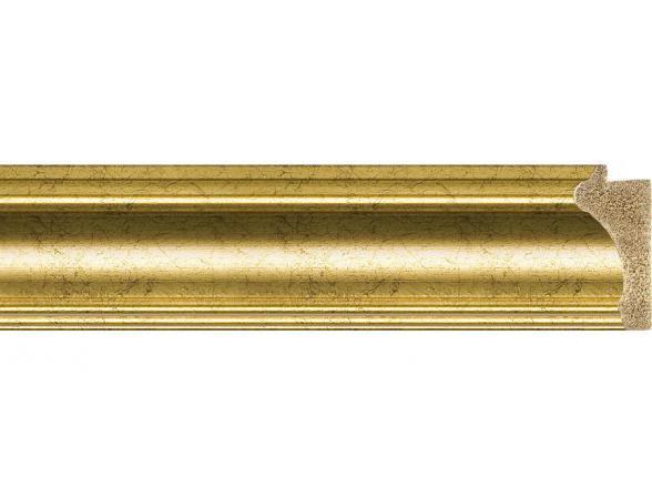 Зеркало в багетной раме EVOFORM старое золото (66х86 см) BY 1016