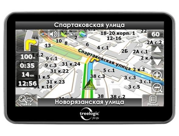 Навигатор Treelogic TL-431 4Gb Навител