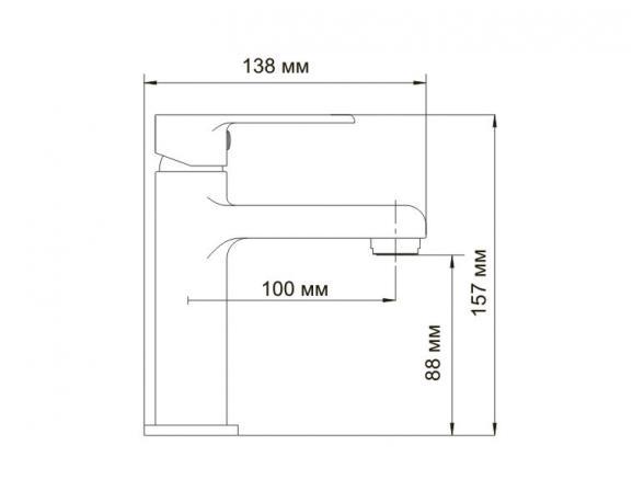 Смеситель для умывальника WasserKRAFT Ammer 3704