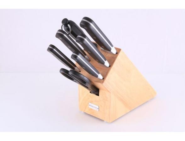 Набор ножей на деревянной подставке Fissman 2633 ORIX