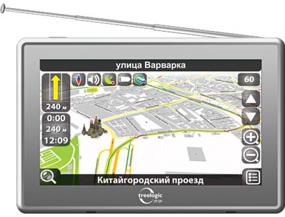 Навигатор Treelogic TL-5017BGF AV ATV 4Gb