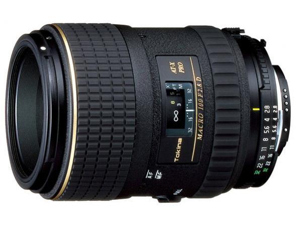 Объектив Tokina AT-X M100 PRO D AF Nikon F