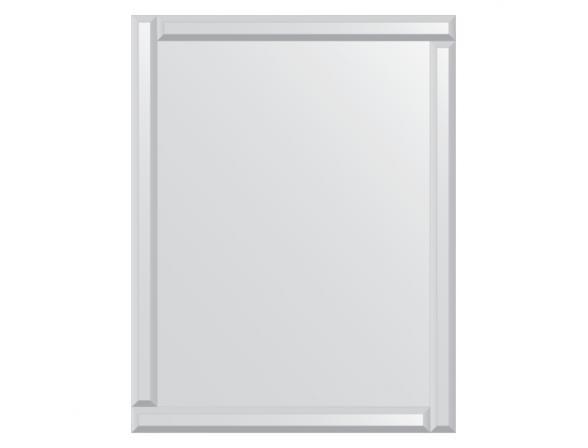 Зеркало с зеркальным обрамлением EVOFORM Style (70х90 см) BY 0810