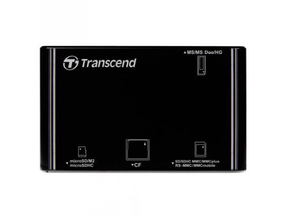 Ридер Transcend All-in-1 Multi Card Reader TS-RDP8K