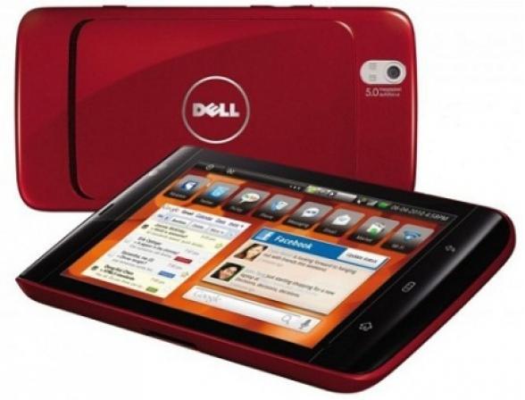 Планшет Dell Streak 5, красный