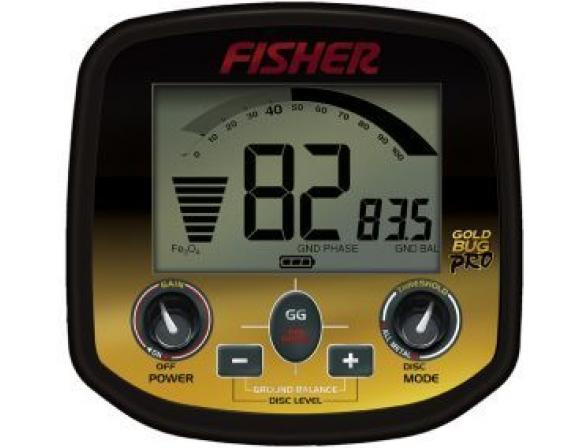 Металлоискатель Fisher Gold Bug DP