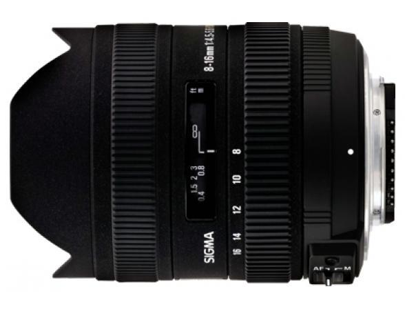 Объектив Sigma AF 8-16mm f/4.5-5.6 DC HSM SONY