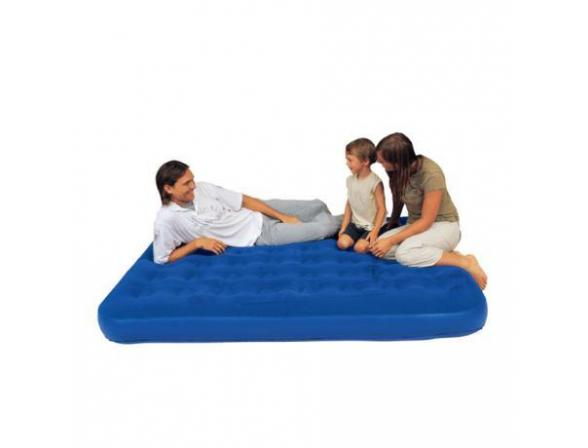 Кровать надувная Bestway Flocked Air Bed King 67227