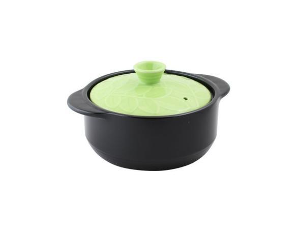 Кастрюля керамическая HANS & GRETCHEN 2,1л (22см) 12NF-G22 BAUM Green