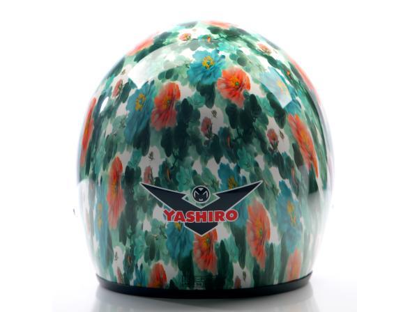 Шлем Yashiro Y500 Helmet Chinese Flower L