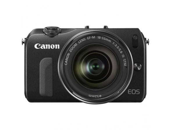 Зеркальный фотоаппарат Canon EOS M Kit + 22 f/2 STM + 18-55 f/3.5-5.6 IS STM + 90EX