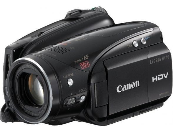 Видеокамера Canon LEGRIA HV40