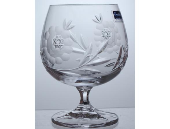 Набор бокалов для бренди Crystalite Bohemia 250 млх6 шт. 21009 Афр. Роза