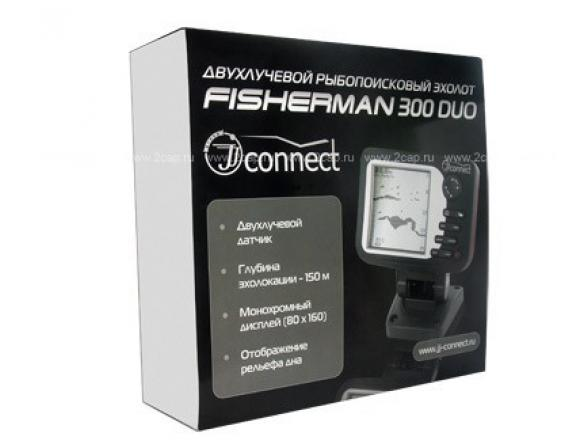 Эхолот JJ-Connect Fisherman 300 Duo