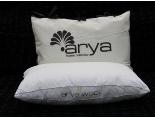 Подушка ARYA овечья шерсть Wool  42х8х70