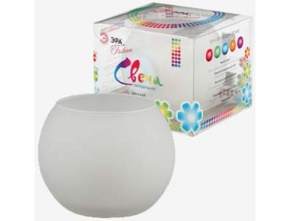 Светодиодная свеча в стакане ЭРА C15-RGB (24/600)