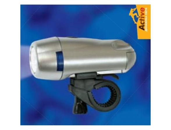 Велосипедный фонарь Uniel S-BL010-C Silver