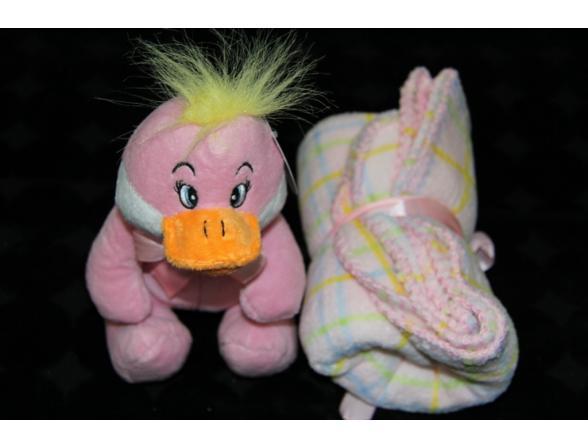 Плед с игрушками ARYA Duck