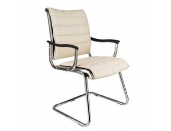 Кресло на полозьях BURO CH-994AV/Ivory