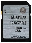 Флэш память Kingston 128 Gb SDXC Card Class 10 UHS-I Gen.2