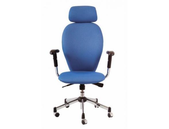 Кресло с подголовником BURO CH-593ASX/Blue