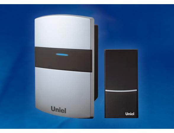 Звонок беспроводной Uniel UDB-001W-R1T1-32S-100M-SL