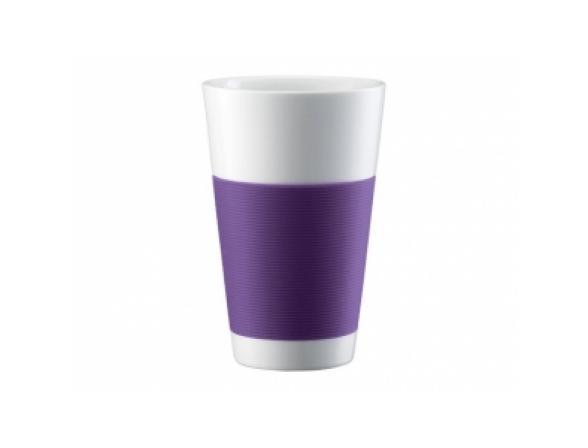 Набор термобокалов BODUM 2шт. Canteen 0.35л фиолет.