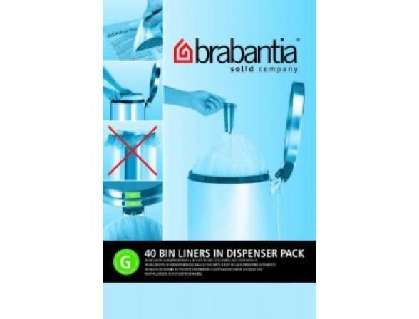 Пакет пластиковый Brabantia 23/30л 40шт