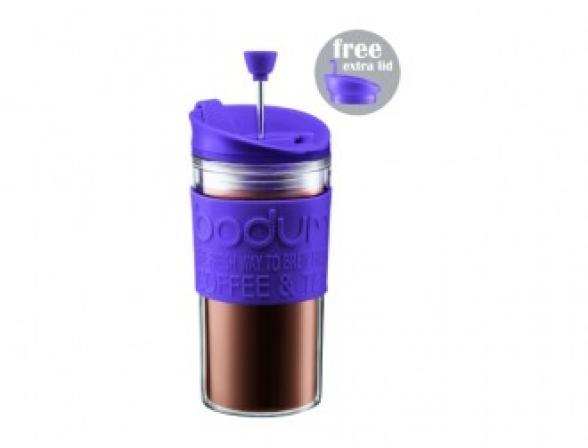 Кофейник дорожный BODUM Travel 0.35л фиолетовый