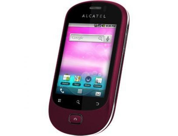 Телефон Alcatel OT908 Pink