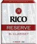 Трости для кларнета RICO Reserve RCR1040  Bb №4 10 шт/упак