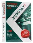 Kaspersky Anti-Virus 2012 Russian Edition. 2-Desktop 1 year Base DVD box (KL1143RXBFS)