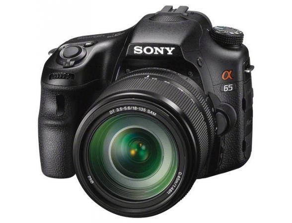Зеркальный фотоаппарат Sony Alpha SLT-A65M Kit 18-135*