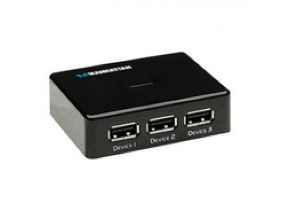 USB HUB Manhattan USB 2.0 Mini Switch hub
