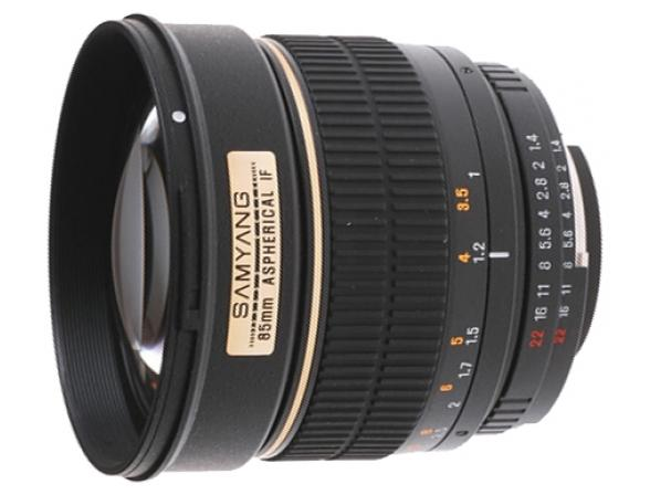 Объектив Samyang 85mm f/1.4 AS IF Chip Canon EF