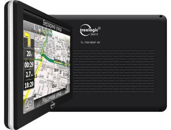 Навигатор Treelogic TL-7001 BGF AV