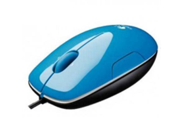 Мышь Logitech LS1, Blue