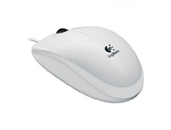 Мышь Logitech B110, White