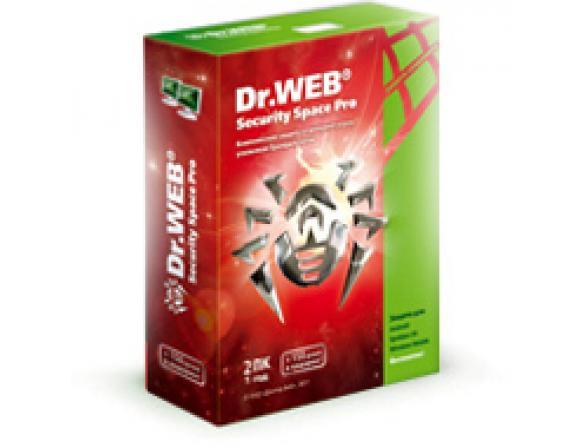Антивирус Dr.Web Security Space Pro на 24 мес на 2ПК