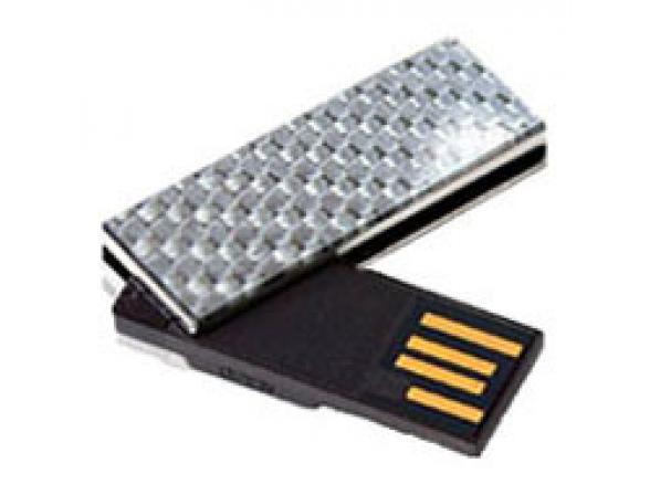 USB Flash Drive Transcend 2Gb JetFlash V90C, Хром