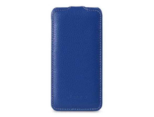 Melkco Premium Leather Case for Samsung Galaxy S III i9300 - Jacka  Type (Blue LC)