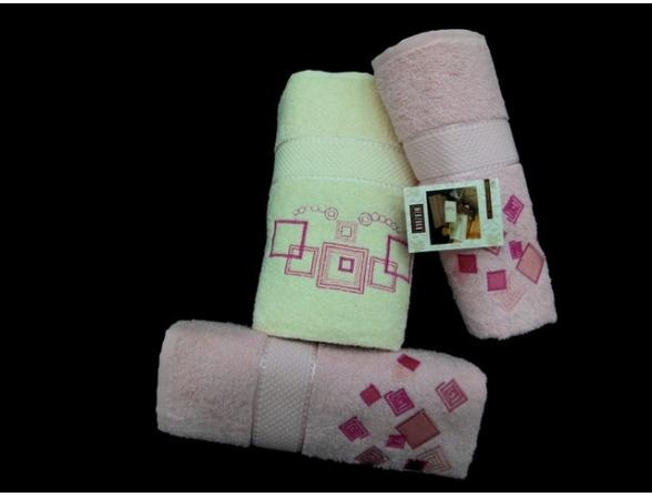 Комплект полотенец FAKILI 3 пр. 50х90 70х140