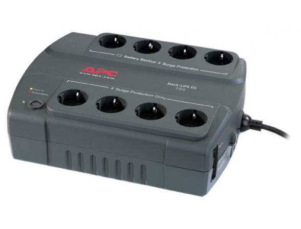 Источник бесперебойного питания APC Back-UPS ES 700VA/405W 230V  (4)+(4) BE700G-RS