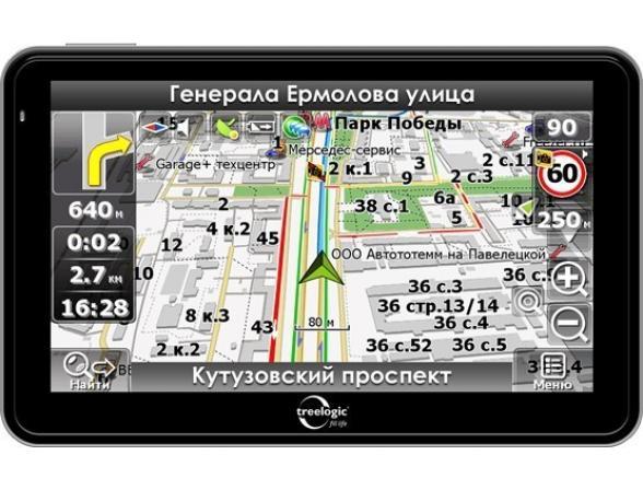 Навигатор Treelogic TL-5008BGF AV HD- 2Gb
