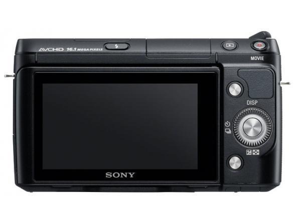 Цифровой фотоаппарат Sony Alpha NEX-F3K Kit 18-55 black*