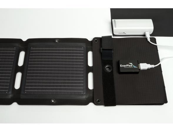 Зарядка на солнечных батареях EnerPlex Kickr IV портативная