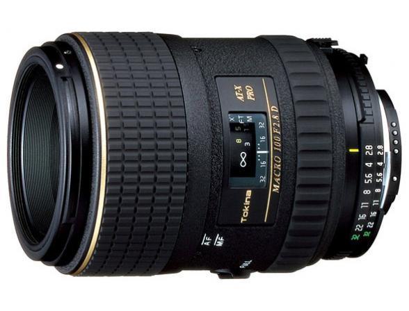 Объектив Tokina AT-X M100 PRO D AF Nikon F*