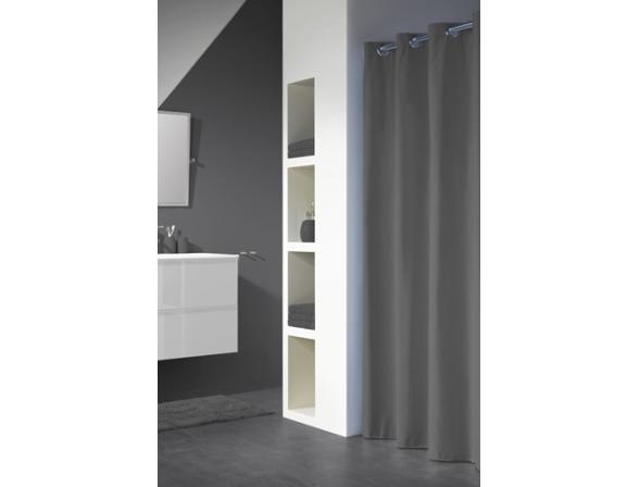 Шторка SEALSKIN Coloris серый 180х200см (232211314)